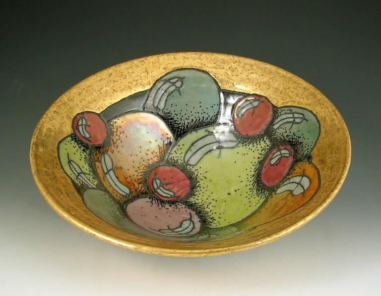 Rimas VisGirda Figurative Sculpture - Bowl With Balls