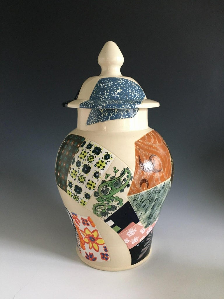 Rachel Hubbard Kline Figurative Sculpture - Preservation Jar 2