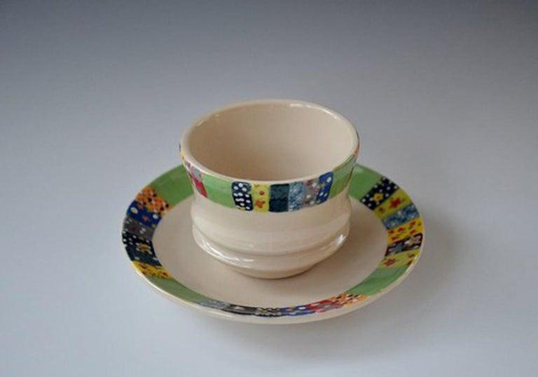Rachel Hubbard Kline Still-Life Sculpture - Cup & Saucer