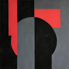 Thus Spake Zarathustra (Geometric Abstraction, Minimalism, Josef Albers)