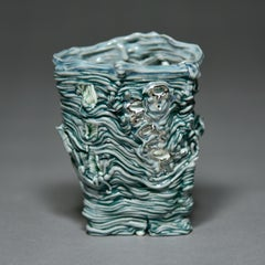 Word Cup (turquoise/silver)