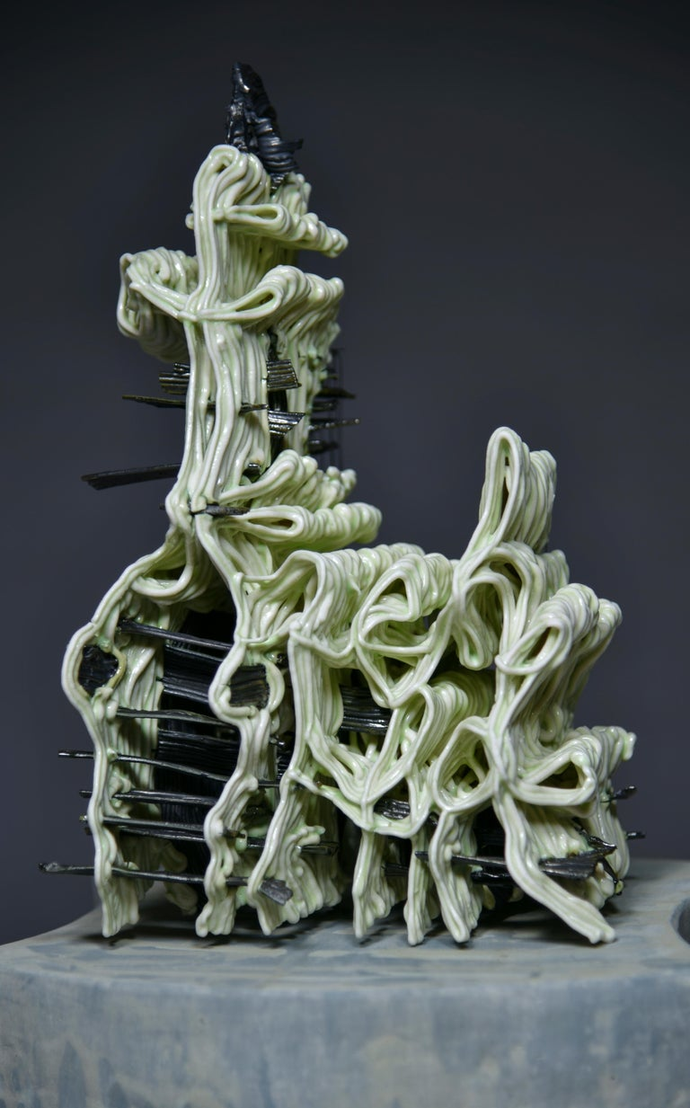 Attached - Sculpture by Stephanie Lanter