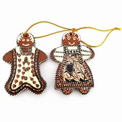 Gingerbread Pair - Small (from the Christmas Series)