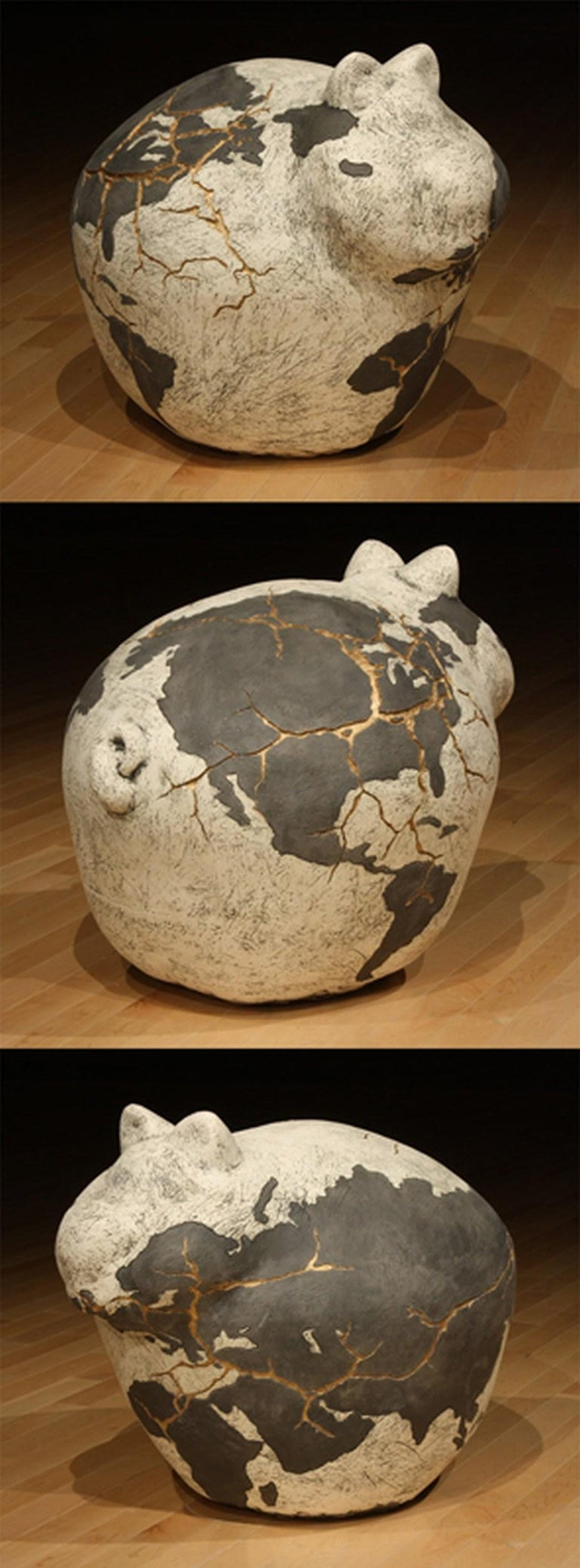 Post-Globalization  - Sculpture by Tommy Frank