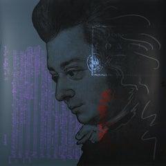 Wolfgang Amadeus Mozart (Pop Art, Andy Warhol) $45 SHIPPING U.S. only (not $499)
