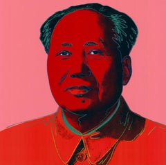 Mao #2 (Pop Art, Andy Warhol)
