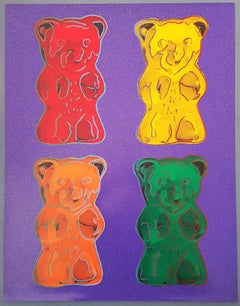Gummibears #1 (Pop Art, Andy Warhol)