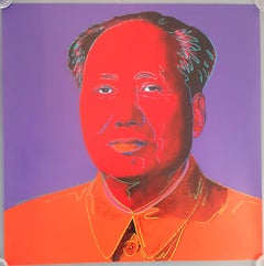 Mao #1 (Pop Art, Andy Warhol)