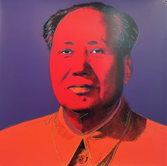 Mao #1 (Pop Art, Andy Warhol)