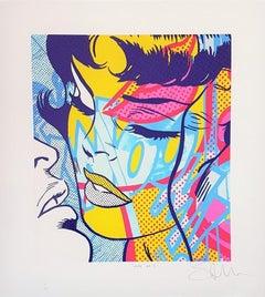 Hope No. 3 (Pop Art, Street Art, Roy Lichtenstein)