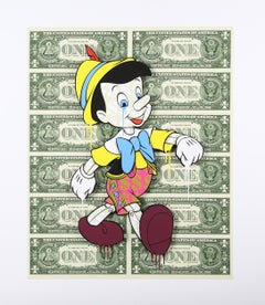 Pinocchio (Pop Art, Street Art, Disney)