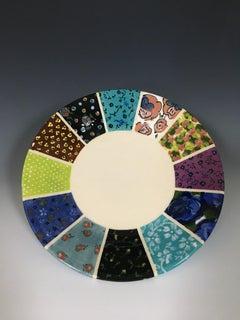 Twelve Pattern Plate