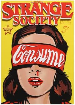 Consume (Street Art, Pop Art, Stranger Things, Nosebleed, Eleven)