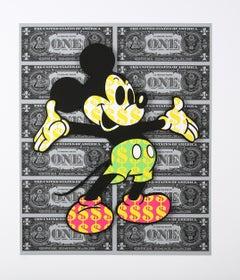 Mickey II (Pop Art, Street Art, Urban Art, Disney)