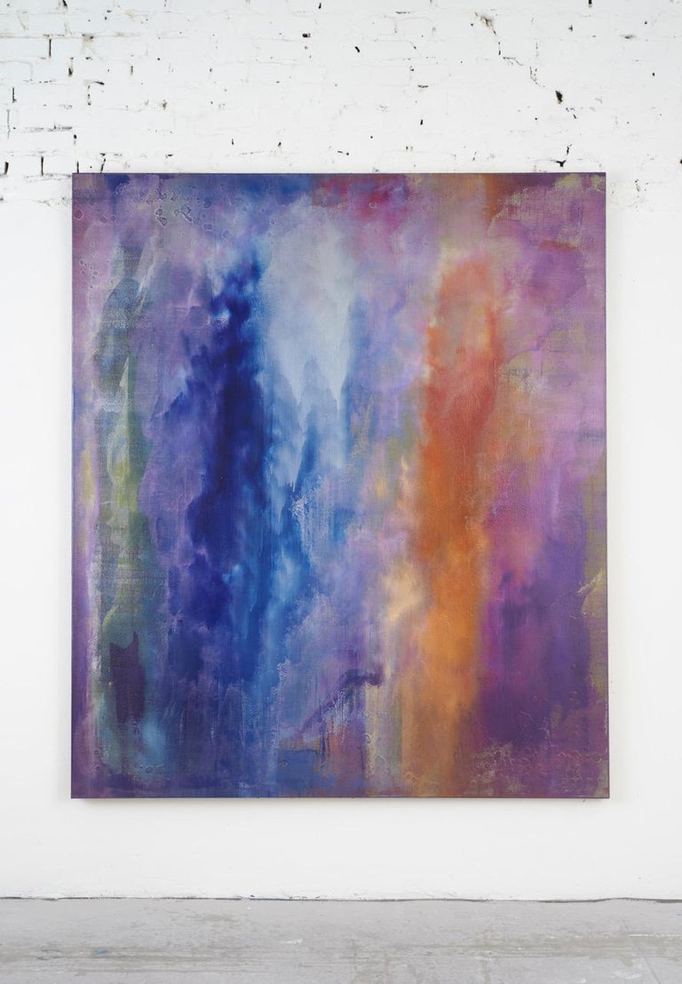 Julius Linnenbrink Abstract Painting - Untitled