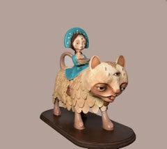 Los Portadores- Figurative Sculpture