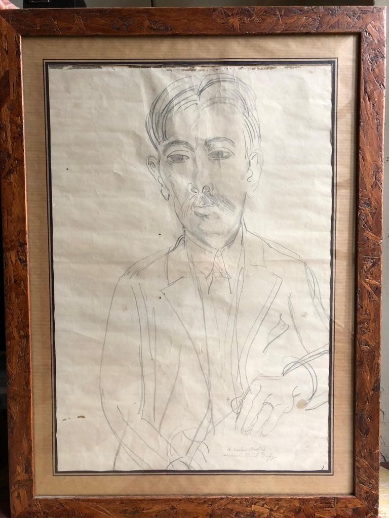Portrait of Marius André For Sale 1