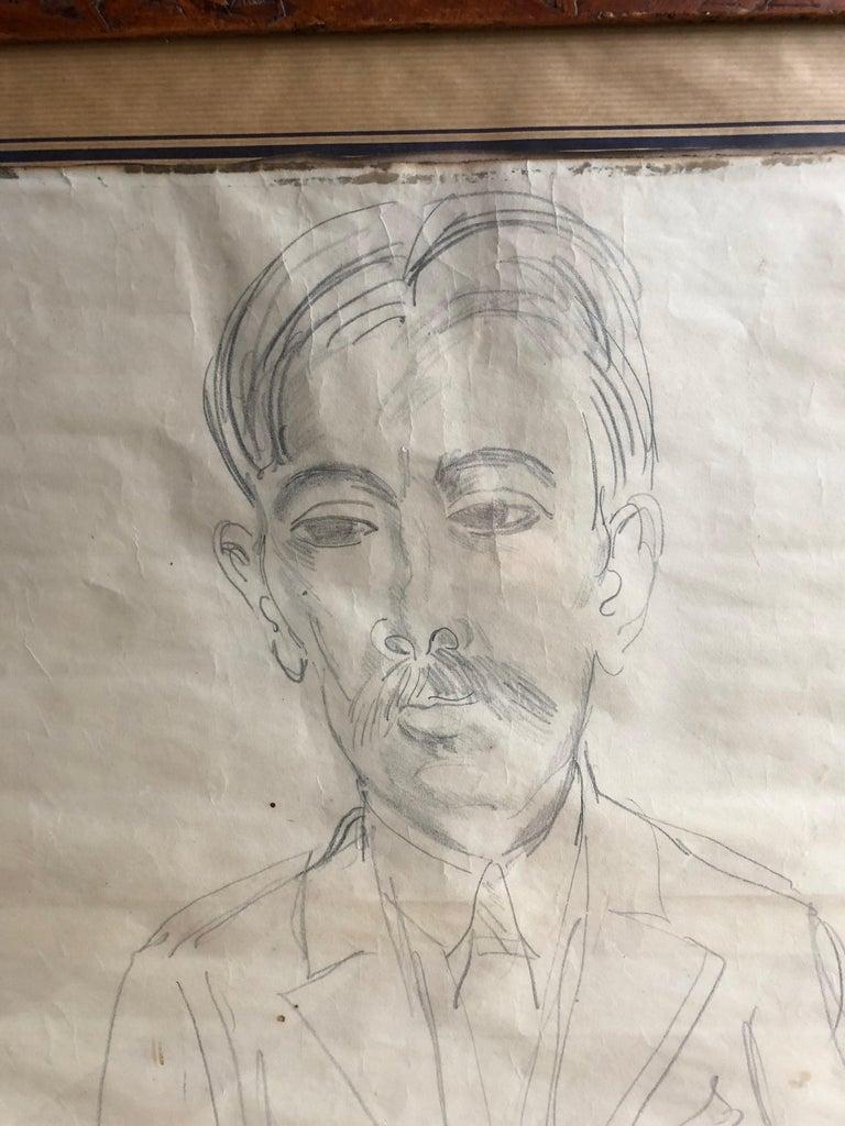 Portrait of Marius André For Sale 2