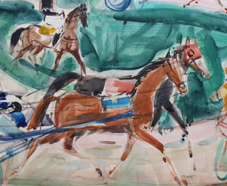 A Day at the Deauville Racetrack For Sale 4