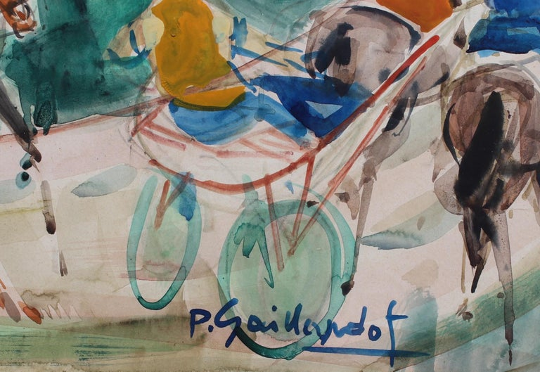 A Day at the Deauville Racetrack For Sale 3