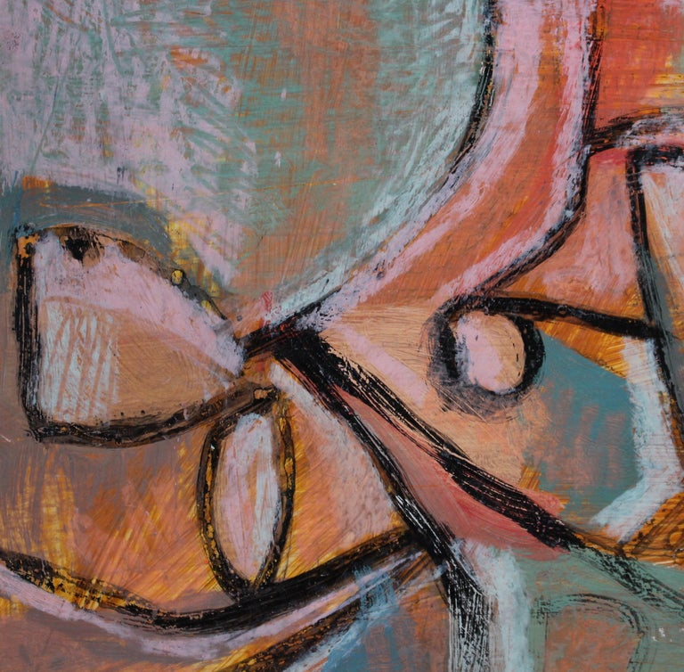 Reclining Woman in Abstract For Sale 4