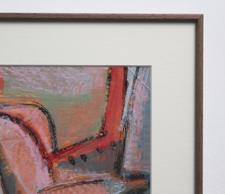 Reclining Woman in Abstract For Sale 6