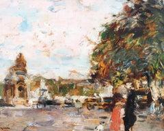 'Place de la Concorde Paris' by Ferdinand Jean Luigini (circa 1900 - 1915)