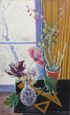 Still Life with Flowers and Snow
