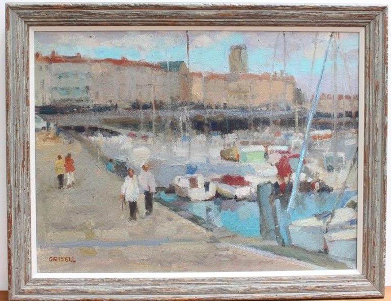 Portside - Painting by Susan Grisell