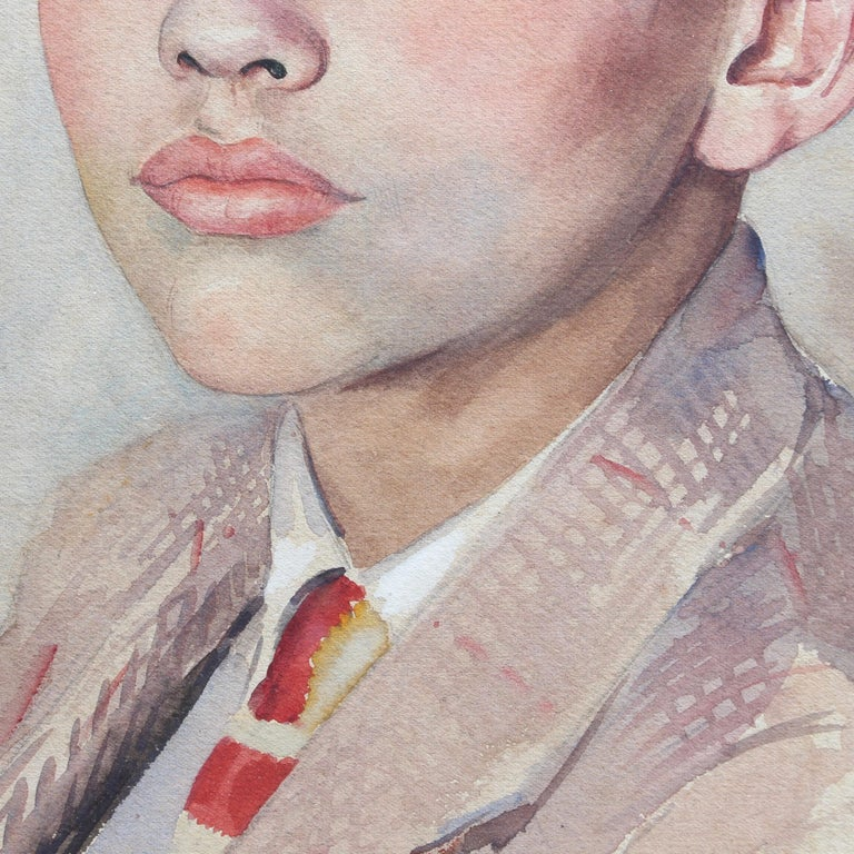 Portrait of Suited Boy For Sale 4