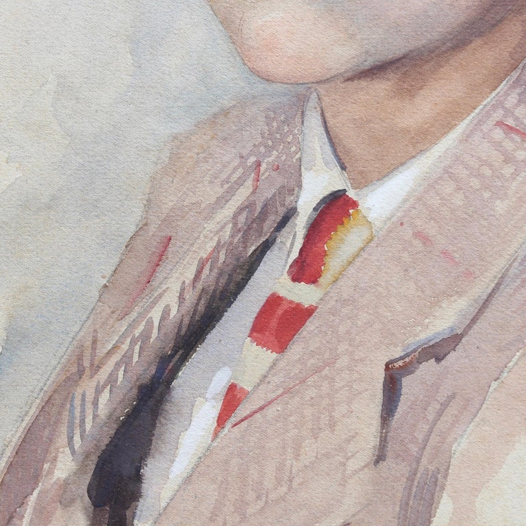 Portrait of Suited Boy For Sale 7