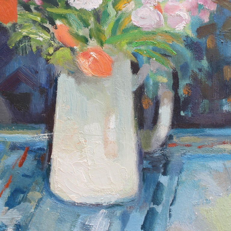 Bouquet with White Jug For Sale 7