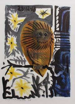 'The Owl' (La Chouette) by Raymond Debiève (1968)