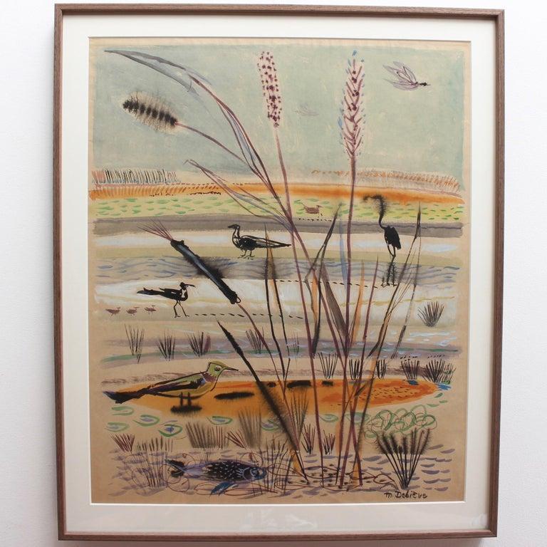 The Wetlands - Art by Michel Debiève