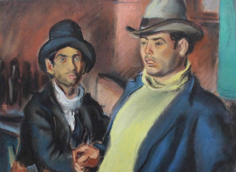 Men Drinking Wine in French Algeria For Sale 12
