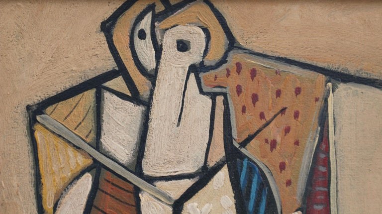 Seated Abstract Figure 1