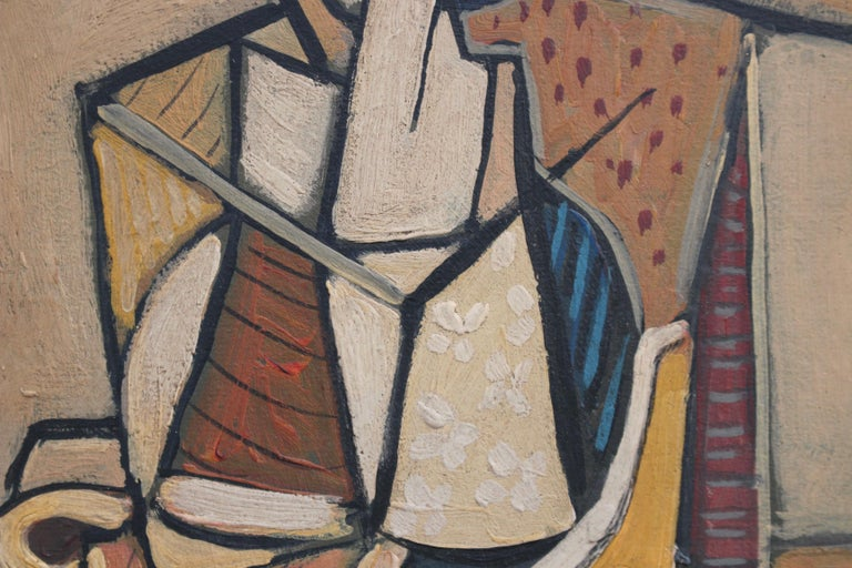 Seated Abstract Figure 2