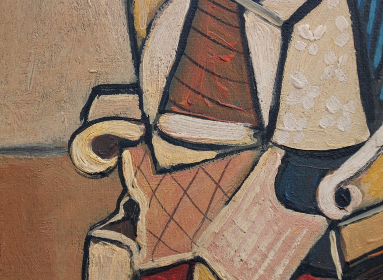 Seated Abstract Figure 3
