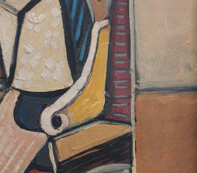 Seated Abstract Figure 4