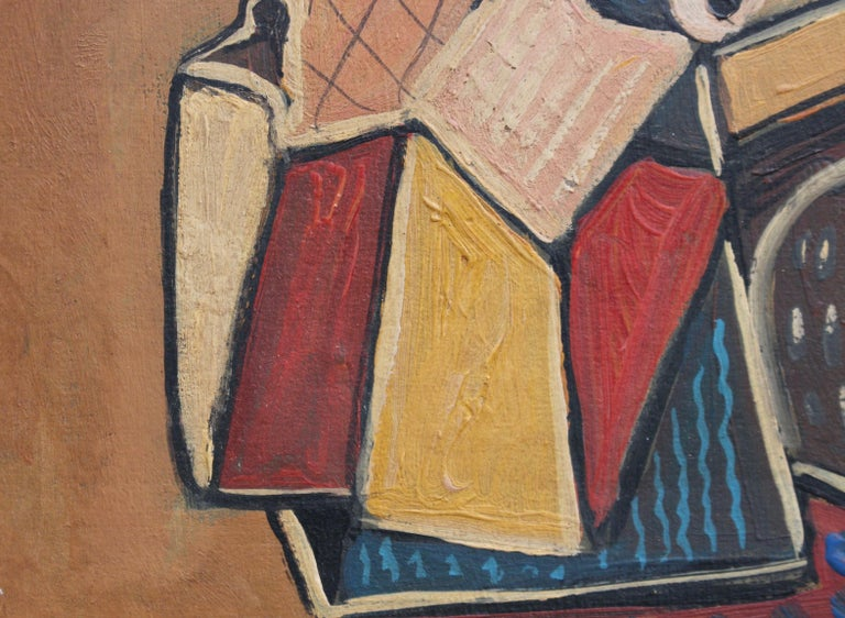 Seated Abstract Figure 6