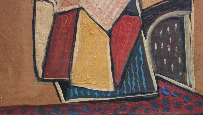 Seated Abstract Figure 7