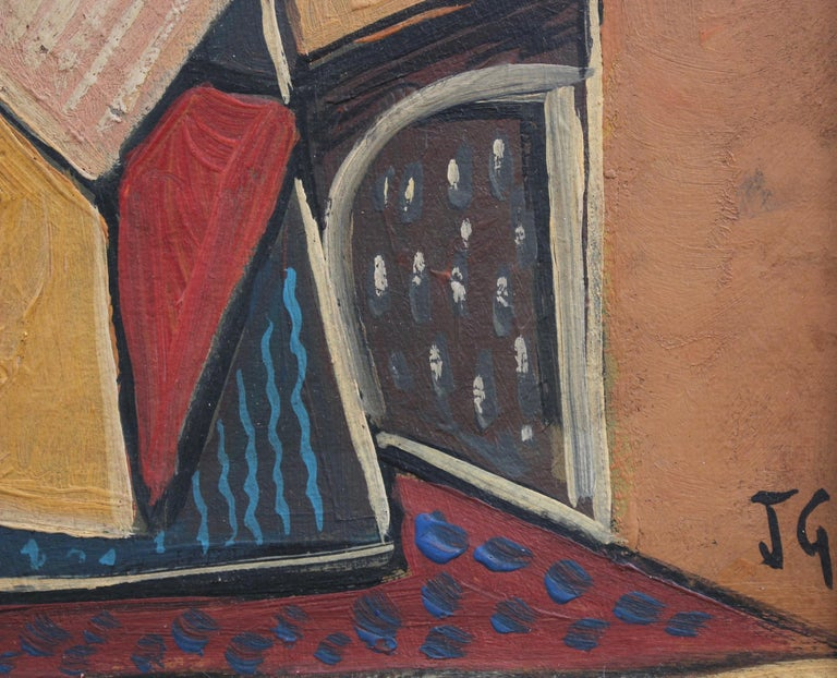 Seated Abstract Figure 8