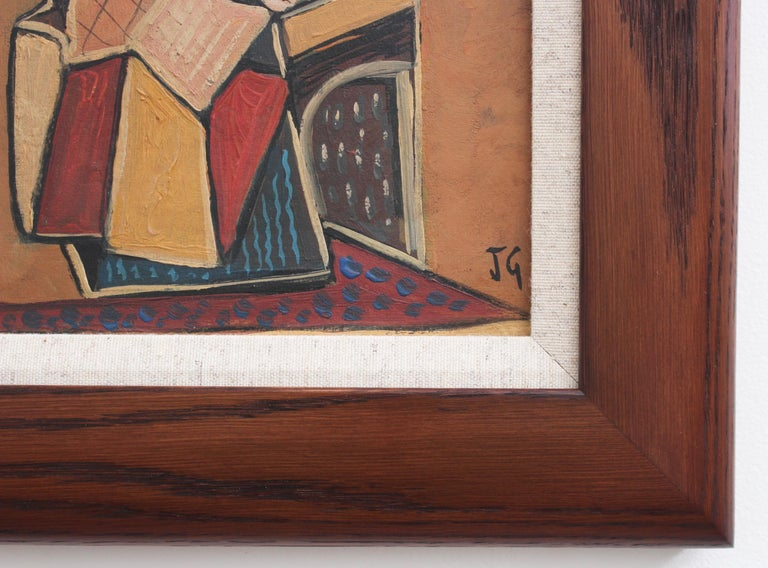 Seated Abstract Figure 9