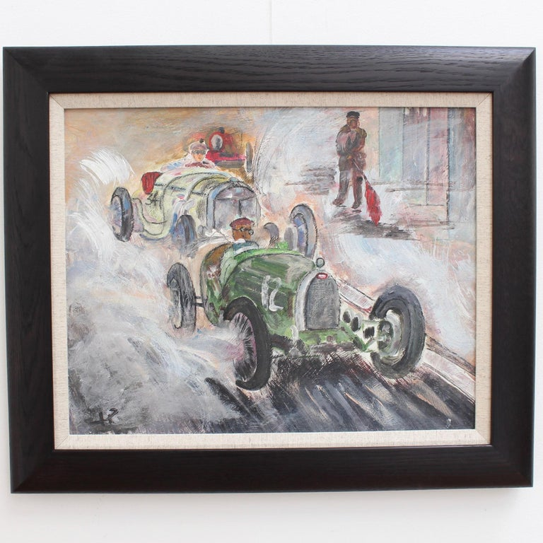 Grand Prix Racer II - Painting by Unknown