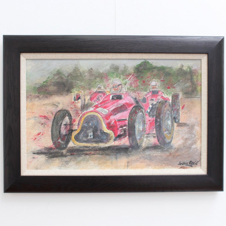 Grand Prix Racer - Painting by Unknown