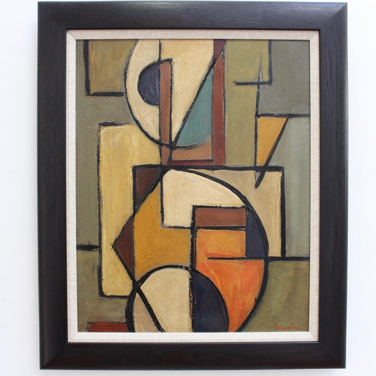 'Abstract Composition in Colour' by Lemaire  - Painting by Berlin School
