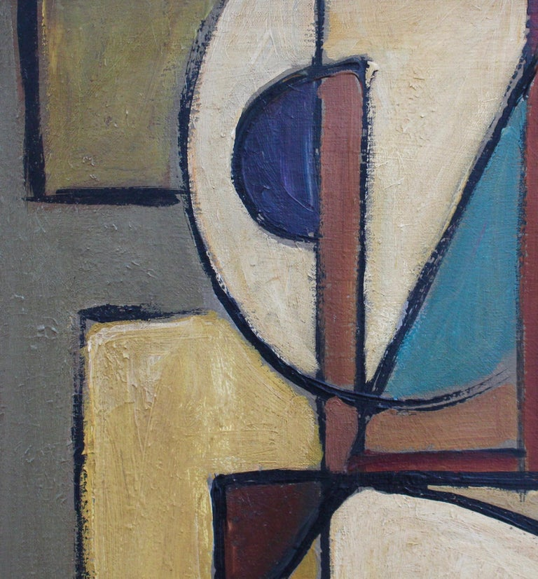 'Abstract Composition in Colour' by Lemaire  1