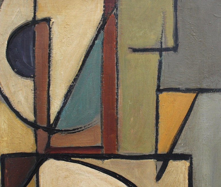 'Abstract Composition in Colour' by Lemaire  3