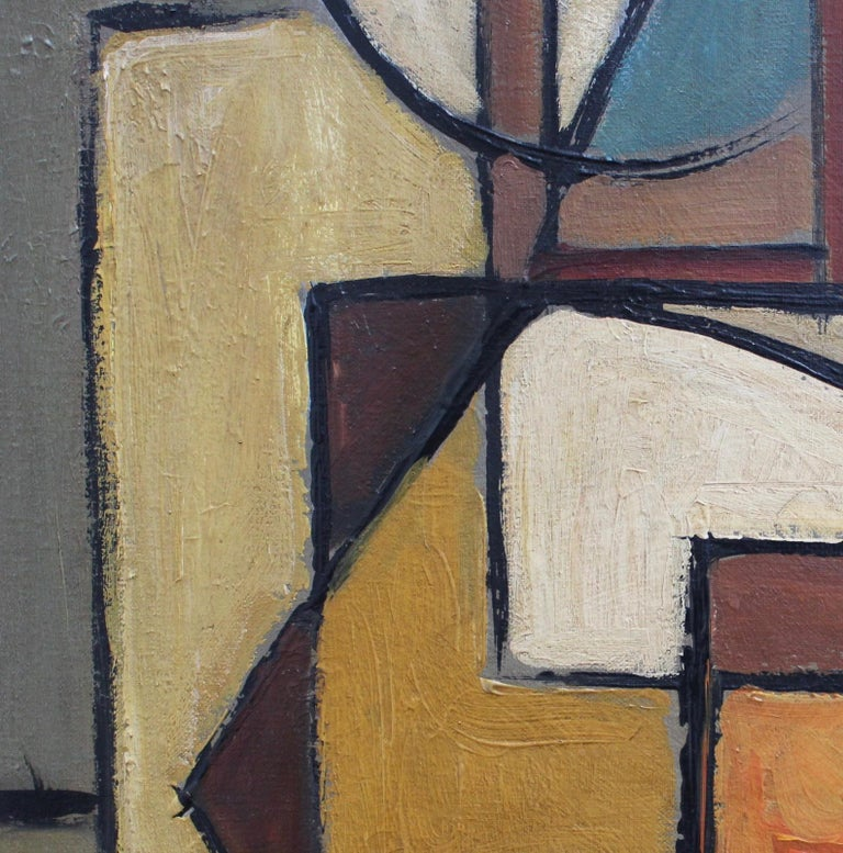 'Abstract Composition in Colour' by Lemaire  7