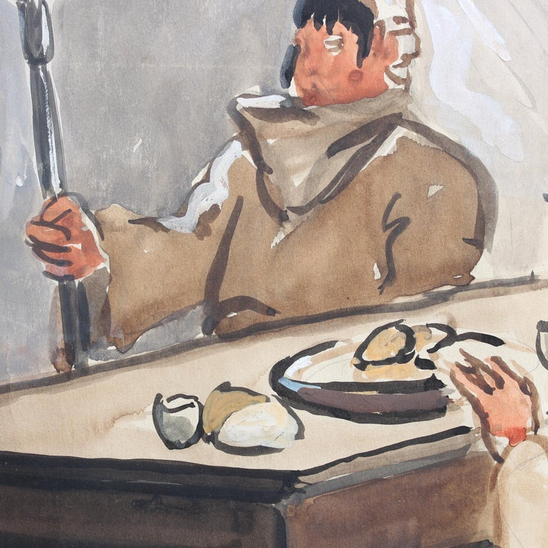 The Repast of the Monks For Sale 3